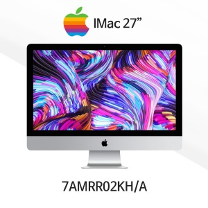 [Apple] 27형 iMac - MRR02KH/A/3.1GHz 6코어 i5/Retina 5K/8GB/1TB Fusion/Radeon Pro 575X/Magic Mouse 2 & Keyboard [CTO 가능]