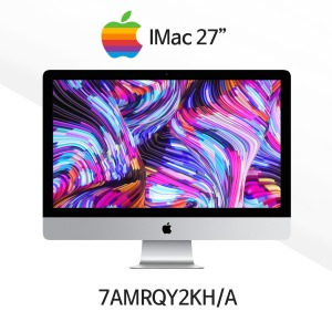 [Apple] 27형 iMac - MRQY2KH/A /3.0GHz 6코어 i5/Retina 5K/8GB/1TB Fusion/Radeon Pro 570X/Magic Mouse 2 & Keyboard [CTO 가능]